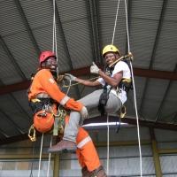 Kurs dostępu linowego IRATA Trinidad 2014