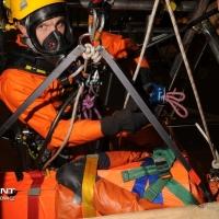 Kurs ratownictwa w środowiskach gazowych Brents Field Shell