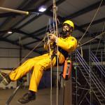 Kurs pracy w aparatach powietrznych na linach